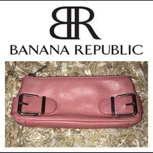 Pink Banana Republic Clutch